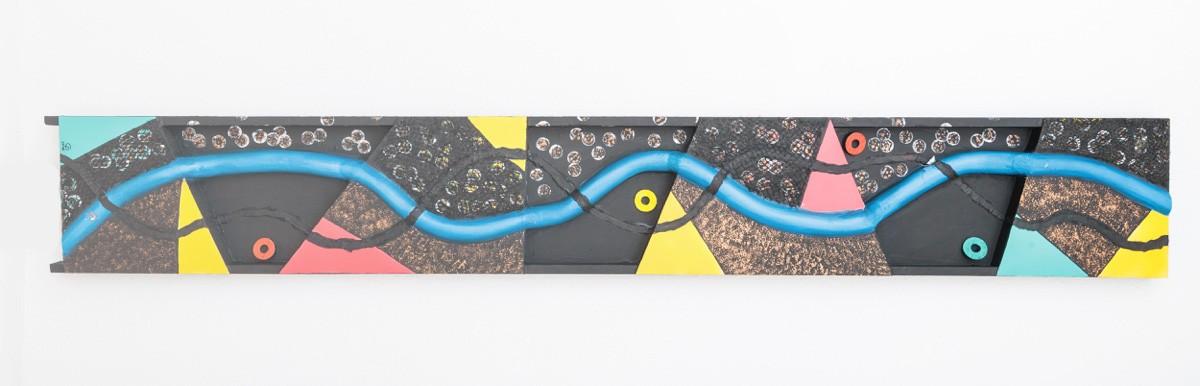 3D-Kunst Installation Malerei Bild Kunstwerk Unikat