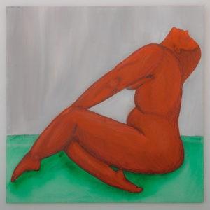 Figürliche Kunst Malerei Bild Unikat Frau Akt Aktmalerei