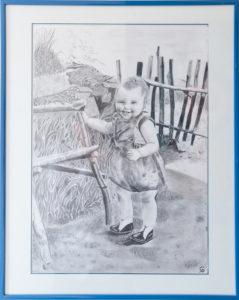 Selbstportrait Christiane Pfau Malerei Kunst Auftragsarbeiten