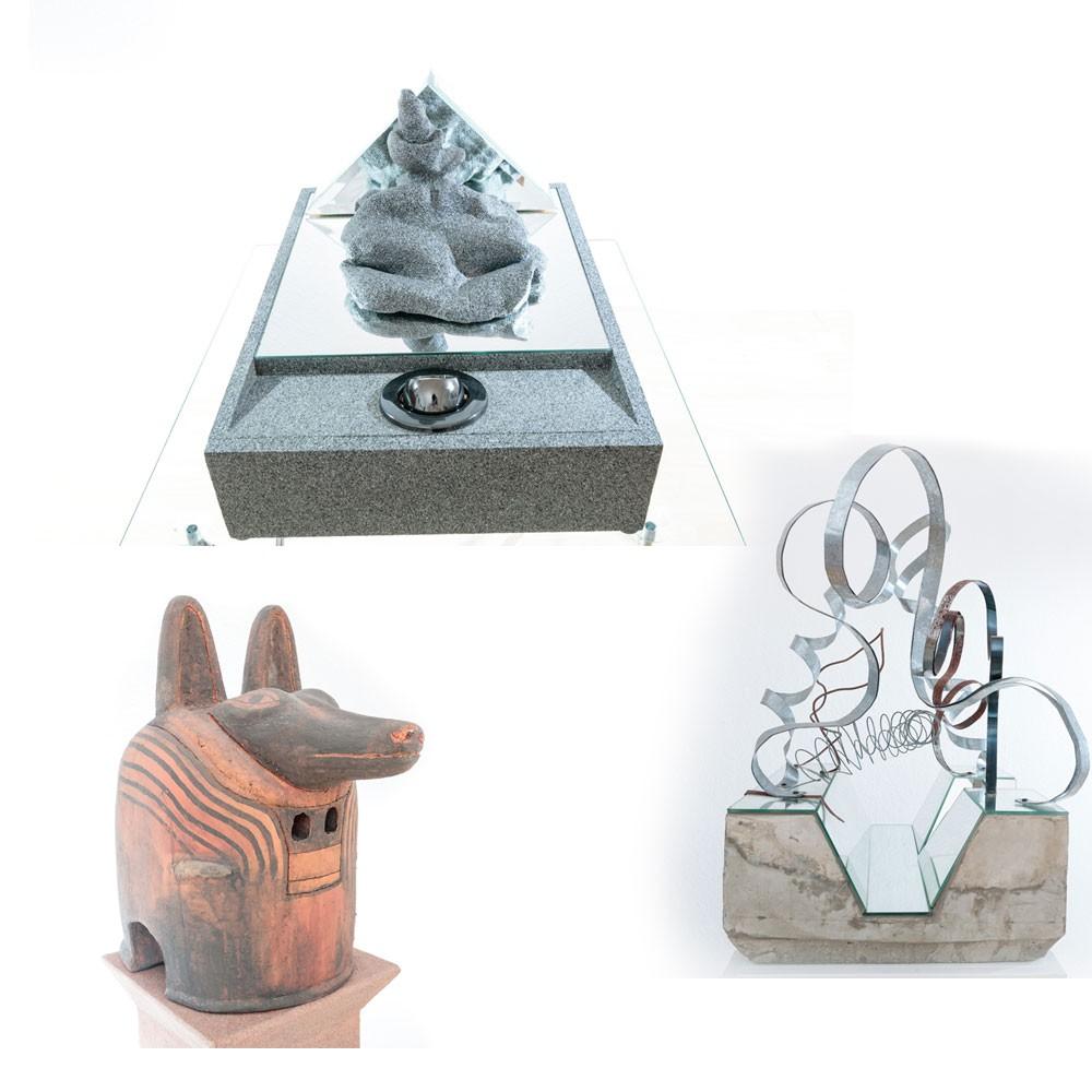 Lichtinstallation Lichtkunst Unikat Objektdesign Skulptur Kunstobjekt Deko Auftragsarbeiten